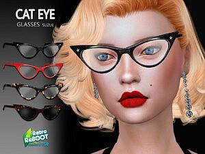 CatEye Glasses sims 4 cc