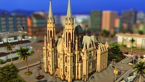 Cathedral da Se sims 4 cc