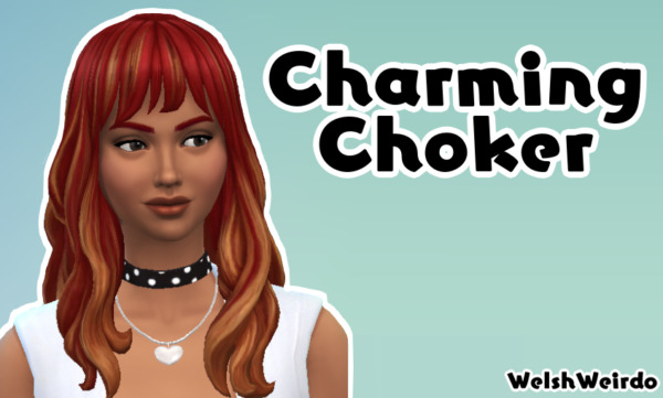 Charming Choker by WelshWeirdo from Mod The Sims