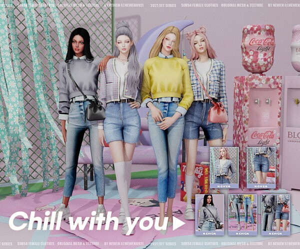 Chill With You Collection sims 4 cc