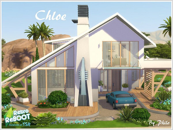 Chloe House sims 4 cc