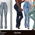City Pants sims 4 cc