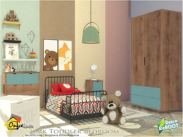 Clark Toddler Bedroom sims 4 cc