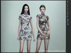 Clothing Dress sims 4 cc