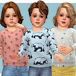 Cozy Sweater for Toddler 02 sims 4 cc