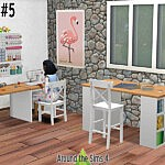 Crafting Room Sewing sims 4 cc