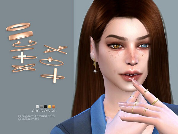 Cupid rings by sugar owl from TSR