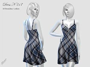 DRESS N 317 sims 4 cc
