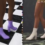 Dahlia boots sims 4 cc