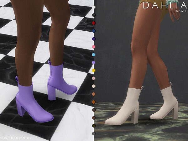 Dahlia boots by Plumbobs n Fries from TSR