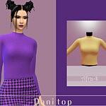Dani long sleeves top sims 4 cc