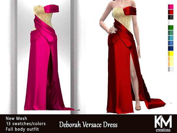 Deborah Dress sims 4 cc