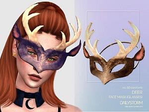 Deer Mask sims 4 cc
