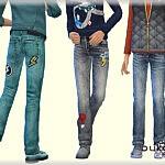 Denim Pants sims 4 cc
