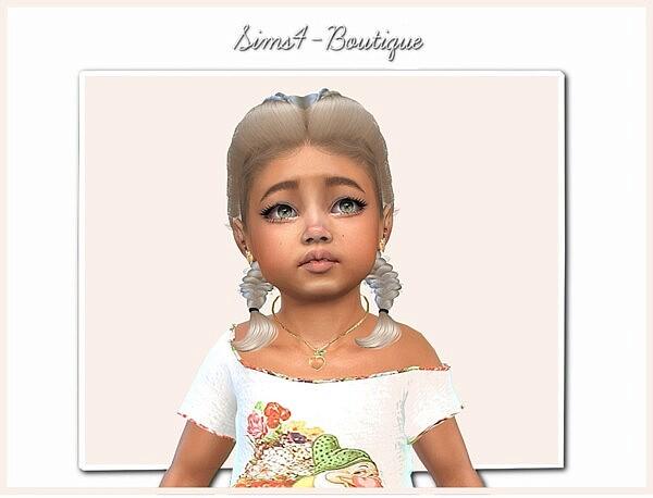 Designer Set Toddler Girls sims 4 cc