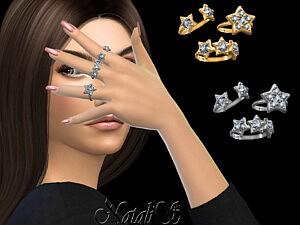 Diamond star ring set sims 4 cc