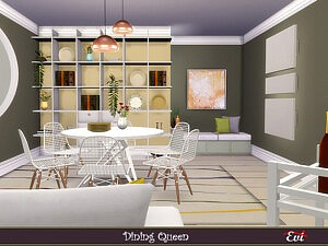 Dining Queen sims 4 cc