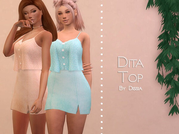 Dita Top by Dissia from TSR