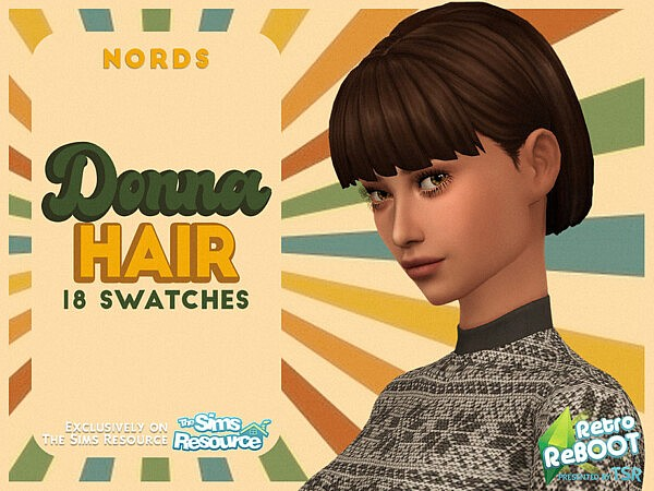 Donna Hair by Nords from TSR