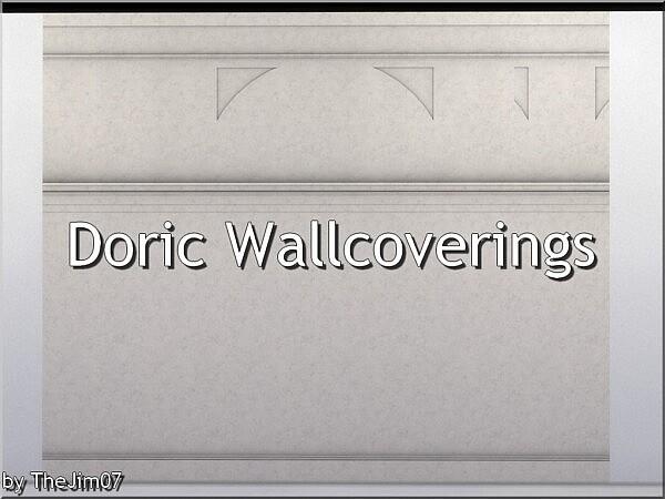 Doric Wallcoverings sims 4 cc