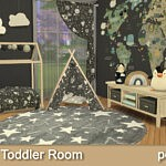 Dream Toddler Room sims 4 cc