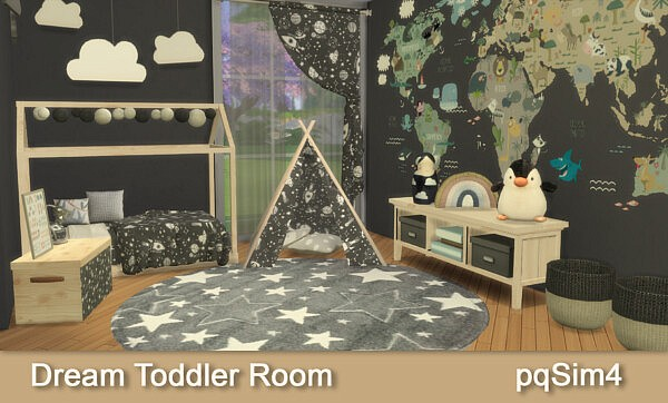 Dream Toddler Room sims 4 cc