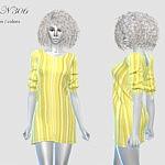 Dress N 306 sims 4 cc