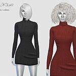 Dress N310 sims 4 cc