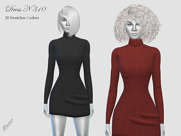 Dress N310 by pizazz from TSR