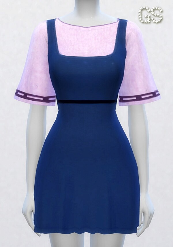 Dress with dungarees from Guemara