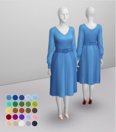 Duchess Of Dress IX sims 4 cc