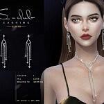 Earrings 2021029 sims 4 cc