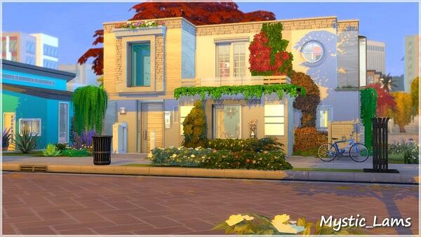 Eco Dream House sims 4 cc