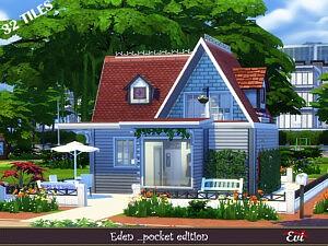 Eden pocket edition sims 4 cc