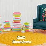 Edith bookstacks sims 4 cc
