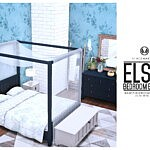 Elsie Bedroom Basics sims 4 cc