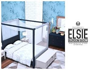 Elsie Bedroom Basics sims 4 cc