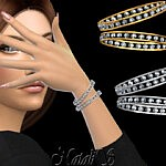 Eternity pair of bracelets sims 4 cc