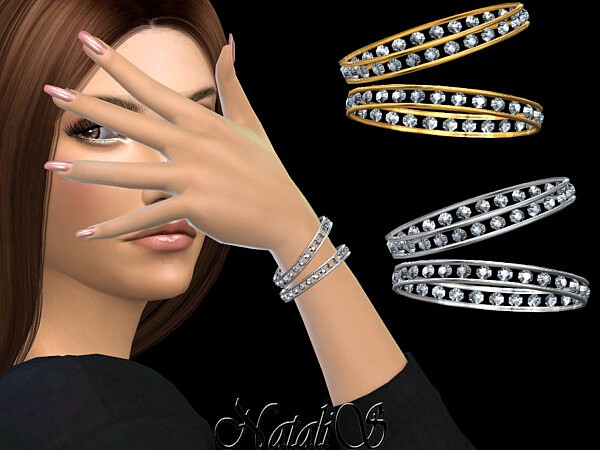 Eternity pair of bracelets by NataliS from TSR