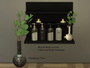 Eucalyptus Vase sims 4 cc