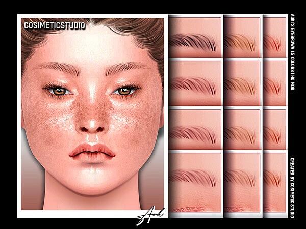 Eyebrows Aoki sims 4 cc