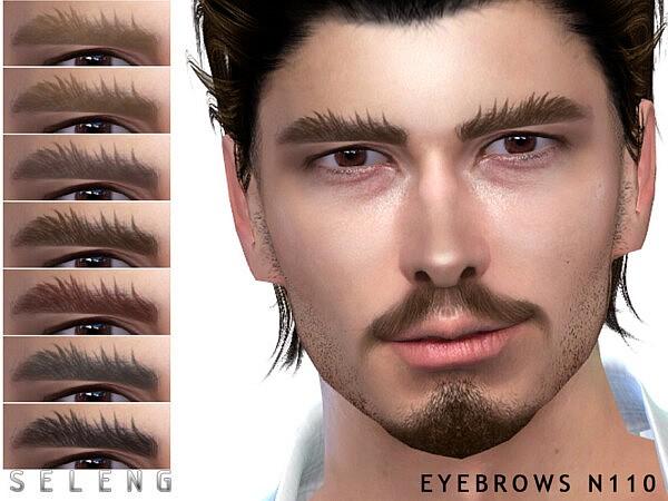 Eyebrows N110 sims 4 cc