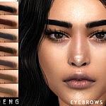 Eyebrows N111 sims 4 cc