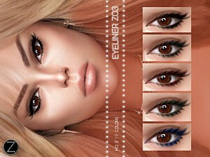 Eyeliner Z03 sims 4 cc