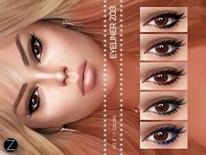 Eyeliner Z03 sims 4 cc1