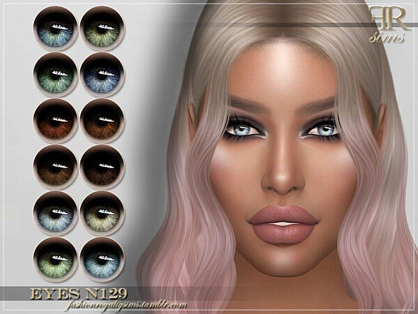 Eyes N129 sims 4 cc