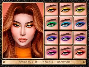 Eyeshadow 103 sims 4 cc