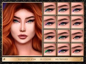 Eyeshadow 104 sims 4 cc