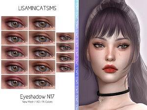 Eyeshadow N17 sims 4 cc