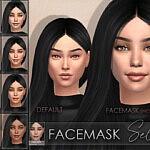 Facemask Selena sims 4 cc